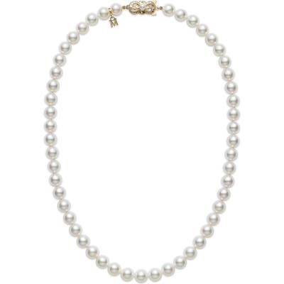 Mikimoto Essential Elements Akoya Cultured Pearl Choker