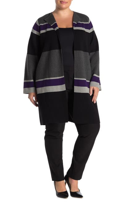 Image of Calvin Klein Colorblock Stripe Long Cardigan