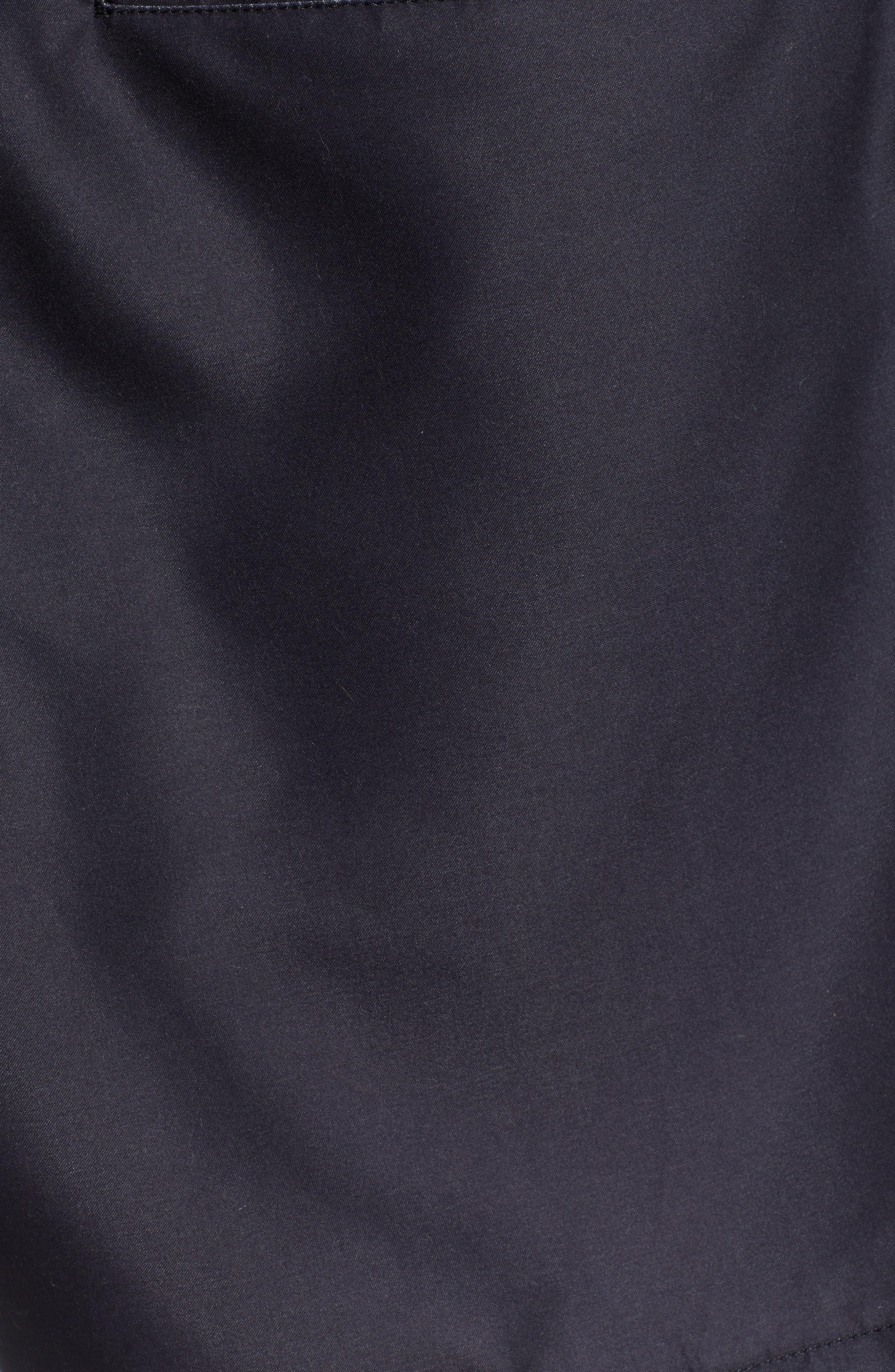 ,                             V Panel Volley Shorts,                             Alternate thumbnail 5, color,                             BLACK