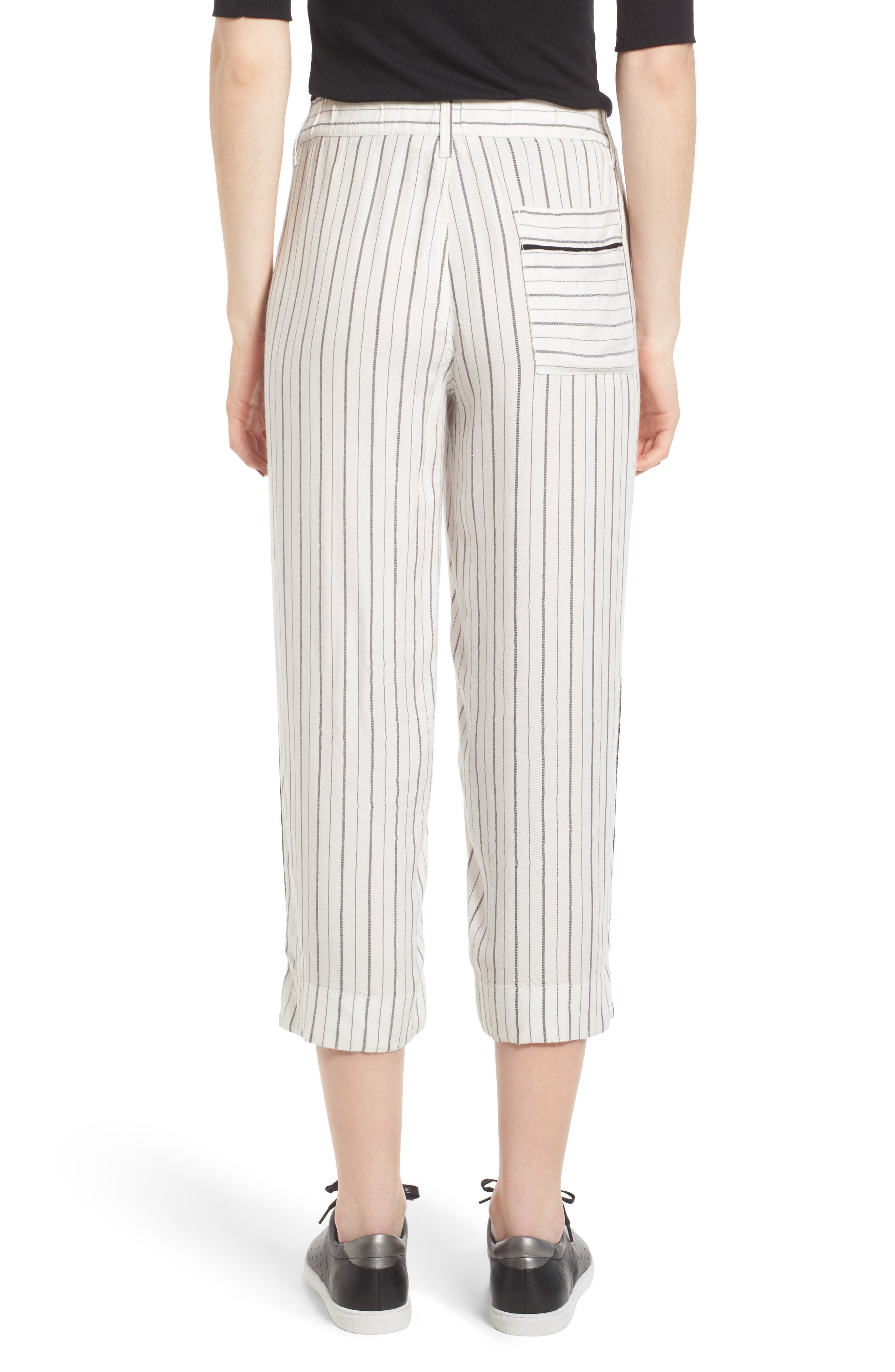 ,                             Crop Wide Leg Trousers,                             Alternate thumbnail 2, color,                             900