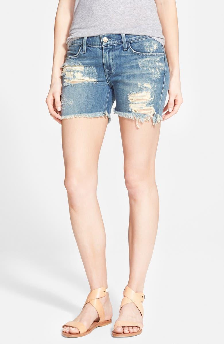 WILDFOX 'Sawyer' Cutoff Denim Shorts, Main, color, 400