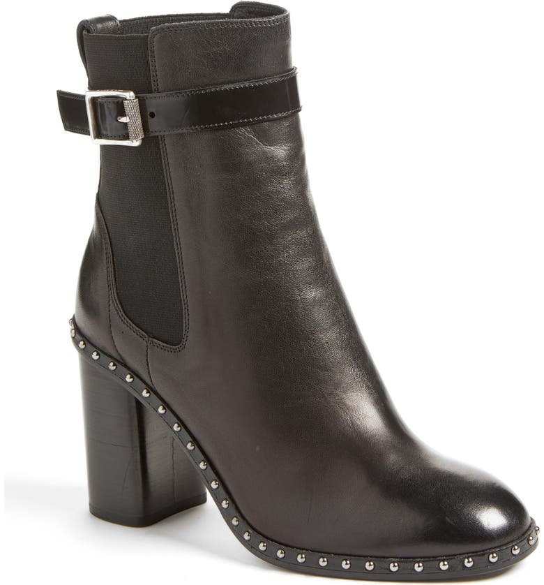 RAG & BONE Romi Studded Chelsea Bootie, Main, color, 001
