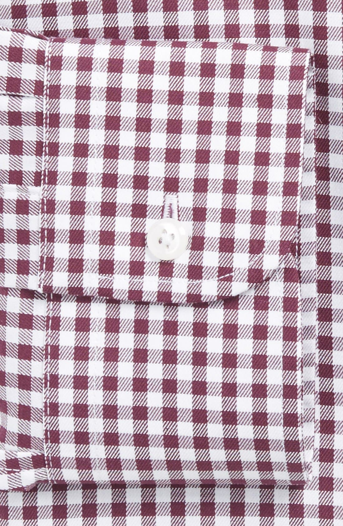 ,                             Traditional Fit Non-Iron Gingham Dress Shirt,                             Alternate thumbnail 63, color,                             501