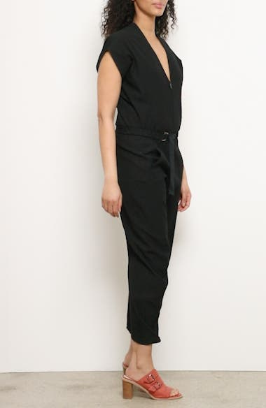 Akeo Strap Crinkle Jumpsuit, video thumbnail