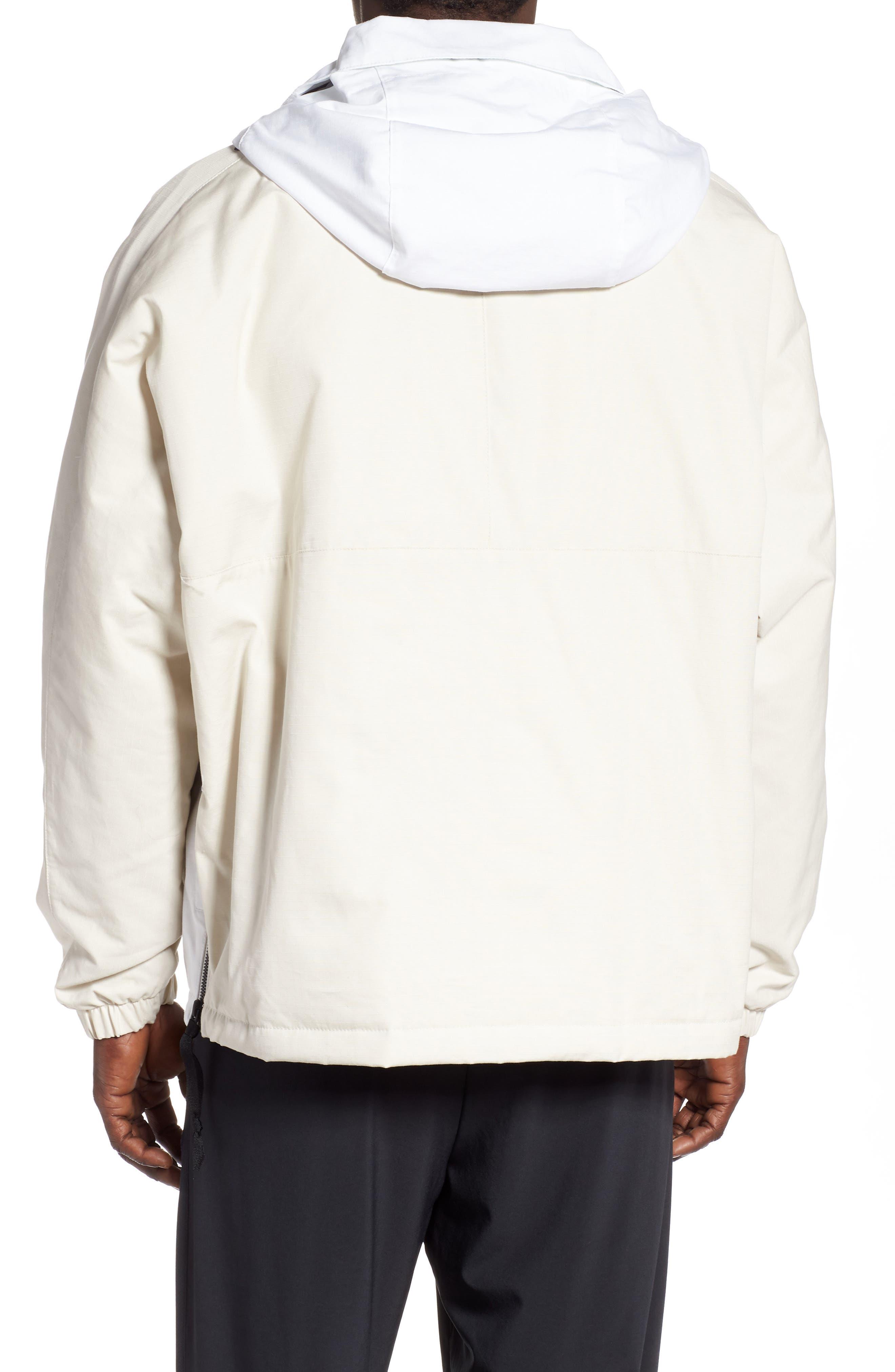 ,                             Sportswear AF1 Hooded Jacket,                             Alternate thumbnail 2, color,                             LT OREWOOD BRN/ BLACK