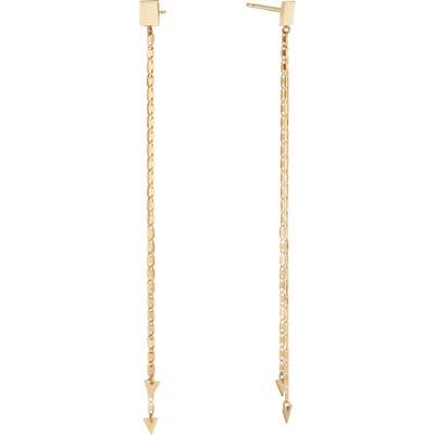 Lana Jewelry Malibu Chain Linear Earrings