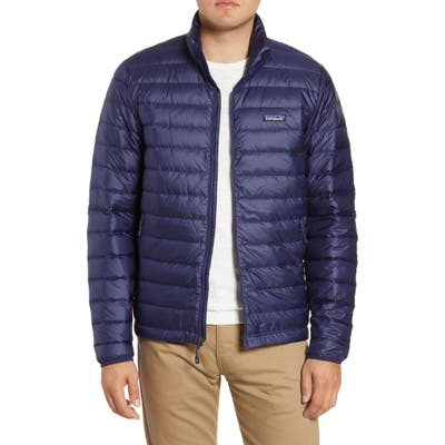Patagonia Water Repellent Down Jacket, Blue