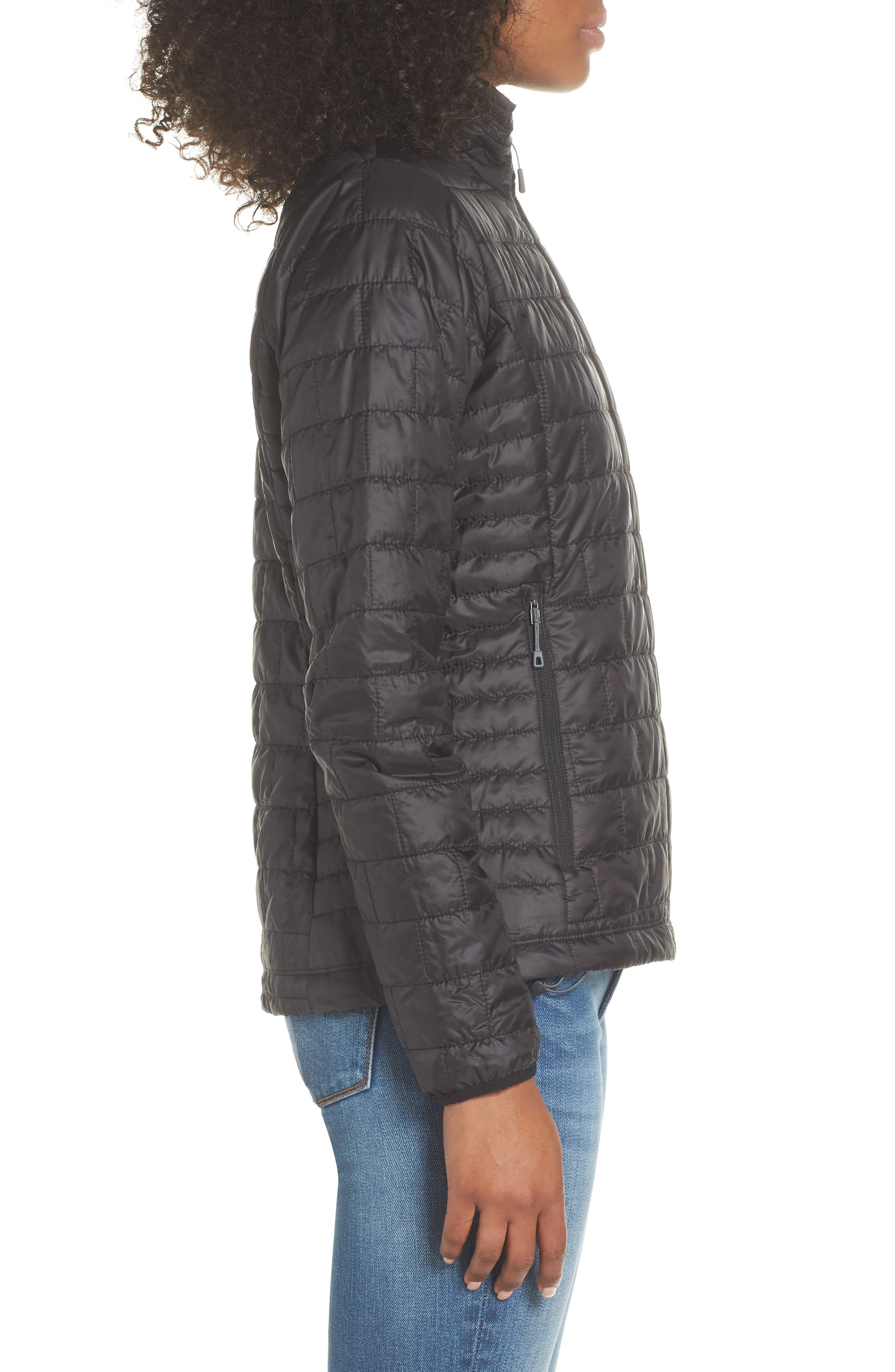 ,                             Nano Puff<sup>®</sup> Water Resistant Jacket,                             Alternate thumbnail 4, color,                             BLACK