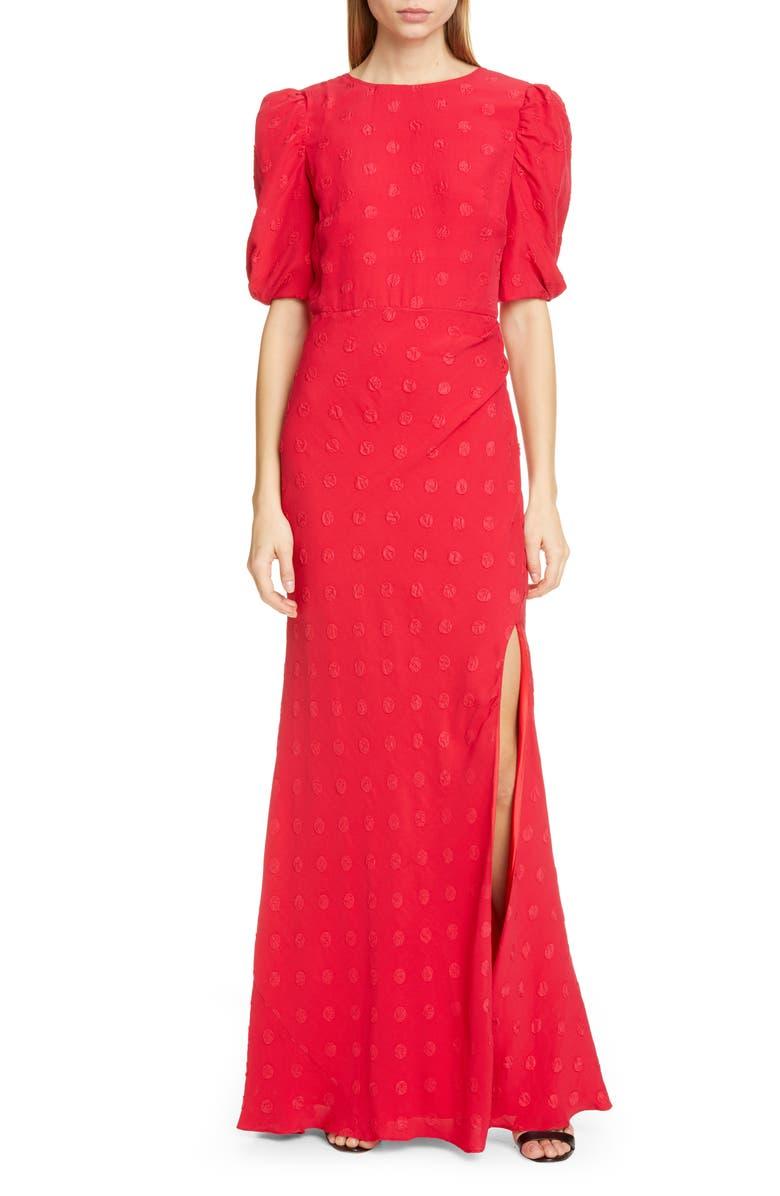 c0695a16deff4 SALONI Annie-B Silk Jacquard Maxi Dress | Nordstrom
