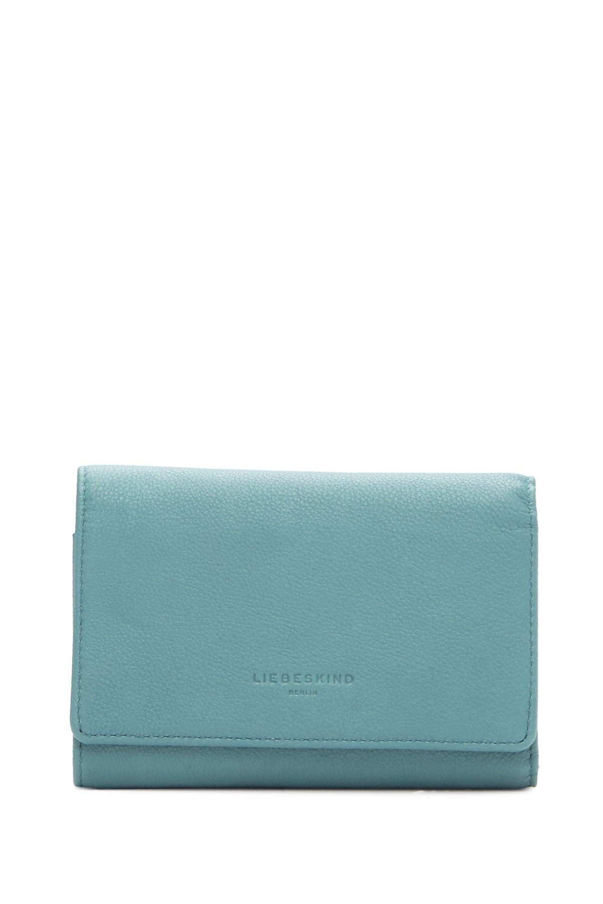 Image of Liebeskind Berlin Vintage Piper Trifold Leather Wallet