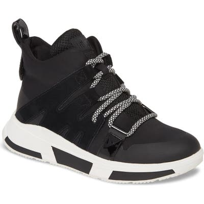 Fitflop Carita High Top Sneaker, Black