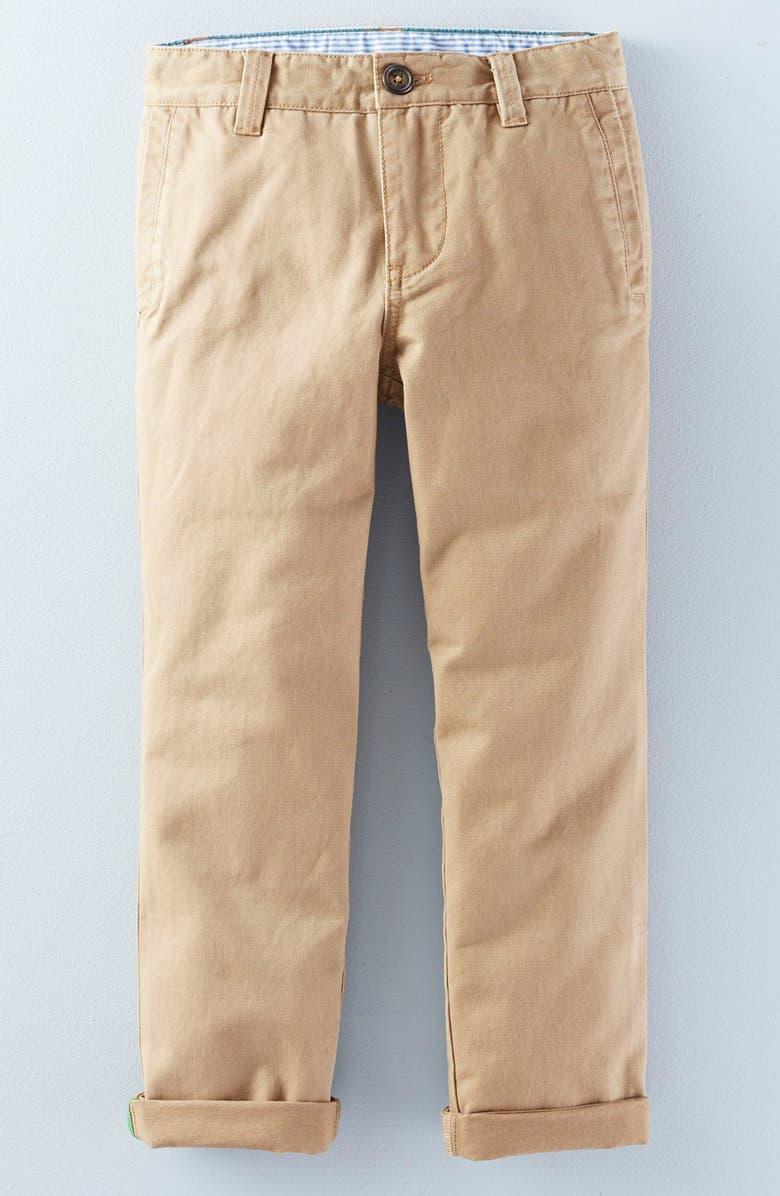 MINI BODEN Cotton Twill Chino Pants, Main, color, 234