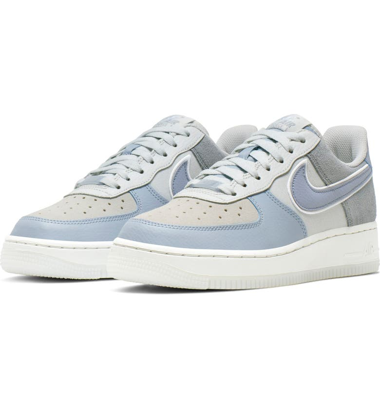 NIKE Air Force 1 '07 Premium Sneaker, Main, color, ARMORY BLUE/ OBSIDIAN MIST