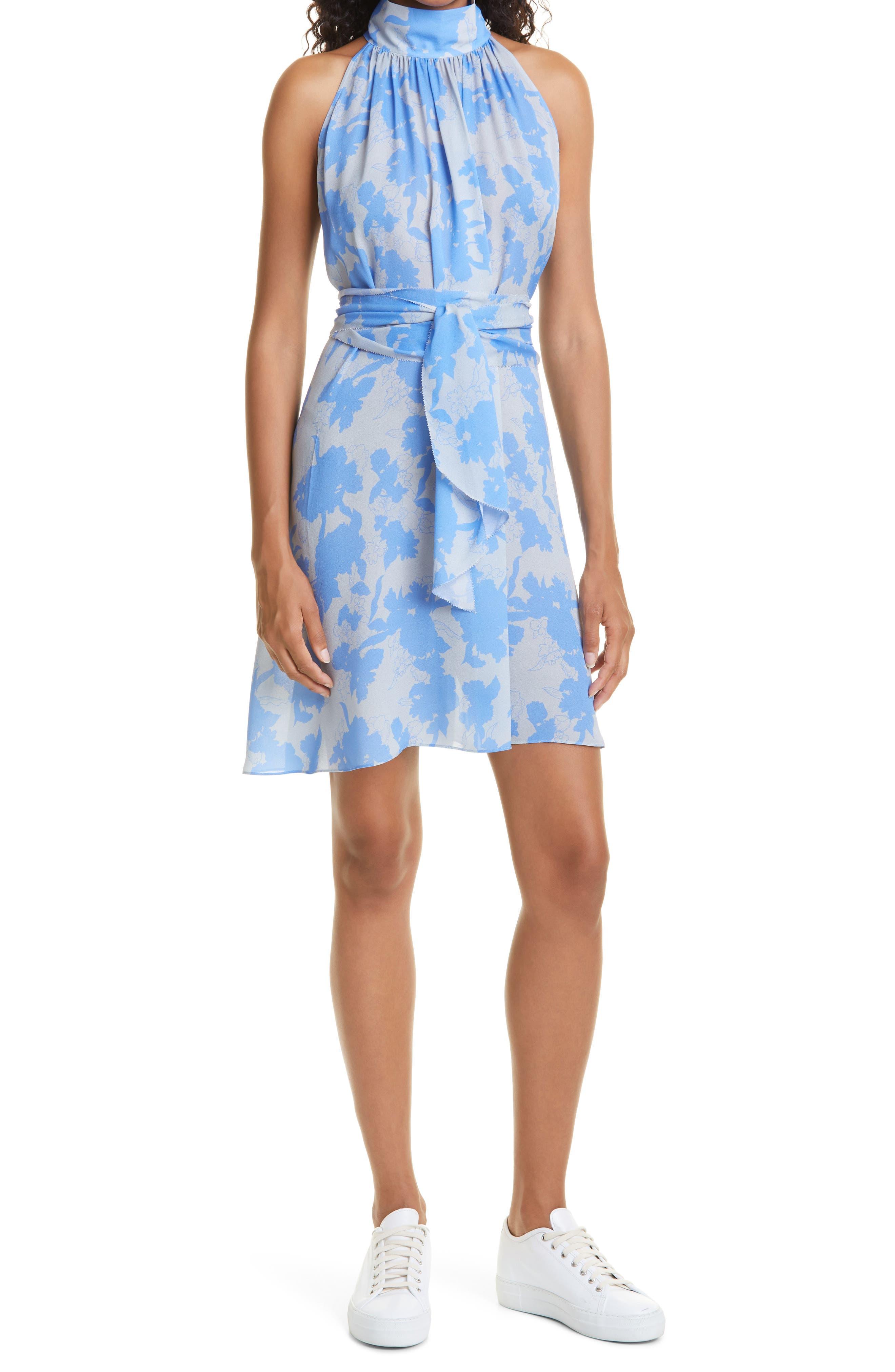 Lucia Floral Print Sleeveless Dress