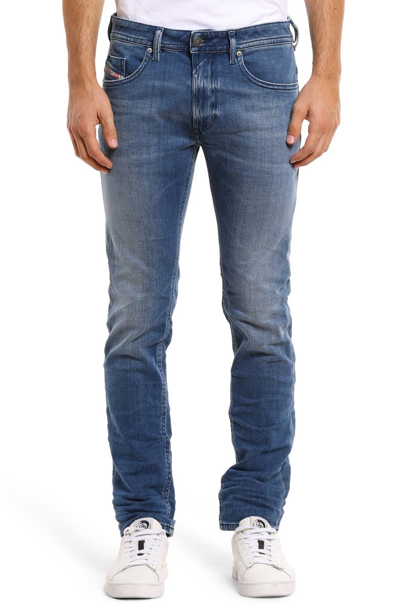DIESEL<SUP>®</SUP> Thommer Extra Slim Fit Jeans, Main, color, 0097X