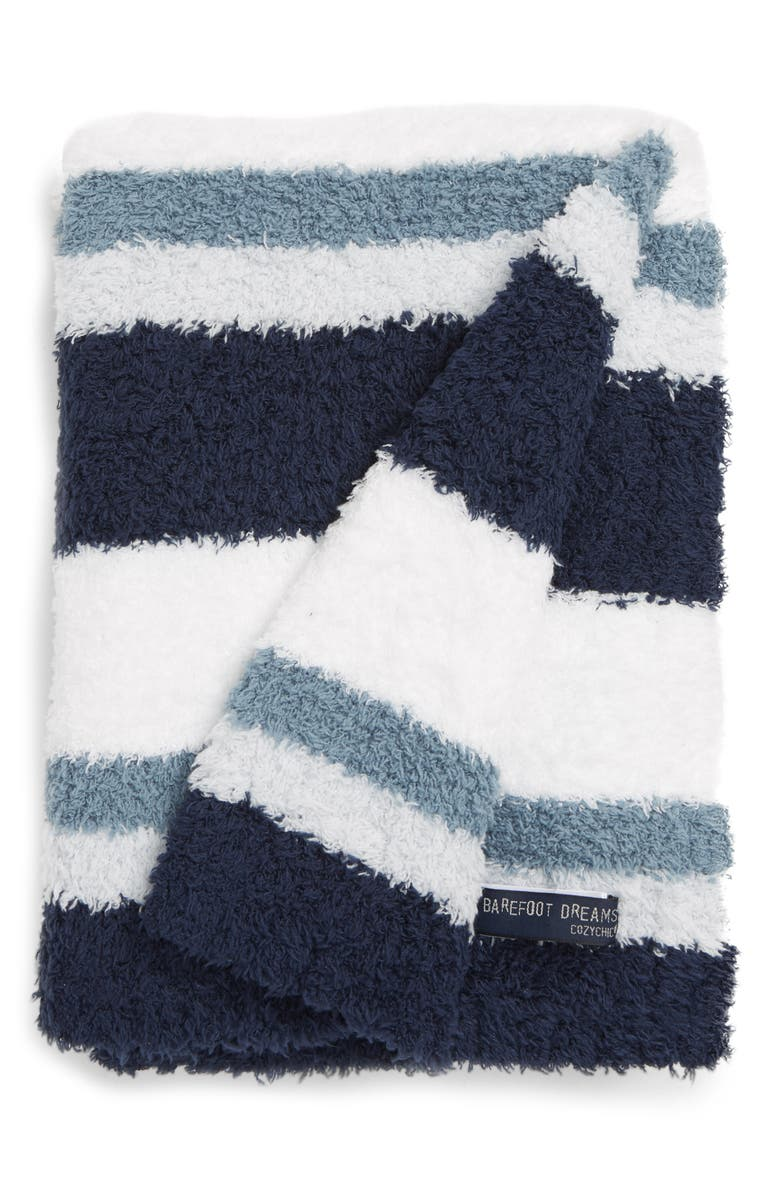 BAREFOOT DREAMS<SUP>®</SUP> Multi Stripe Stroller Blanket, Main, color, 423