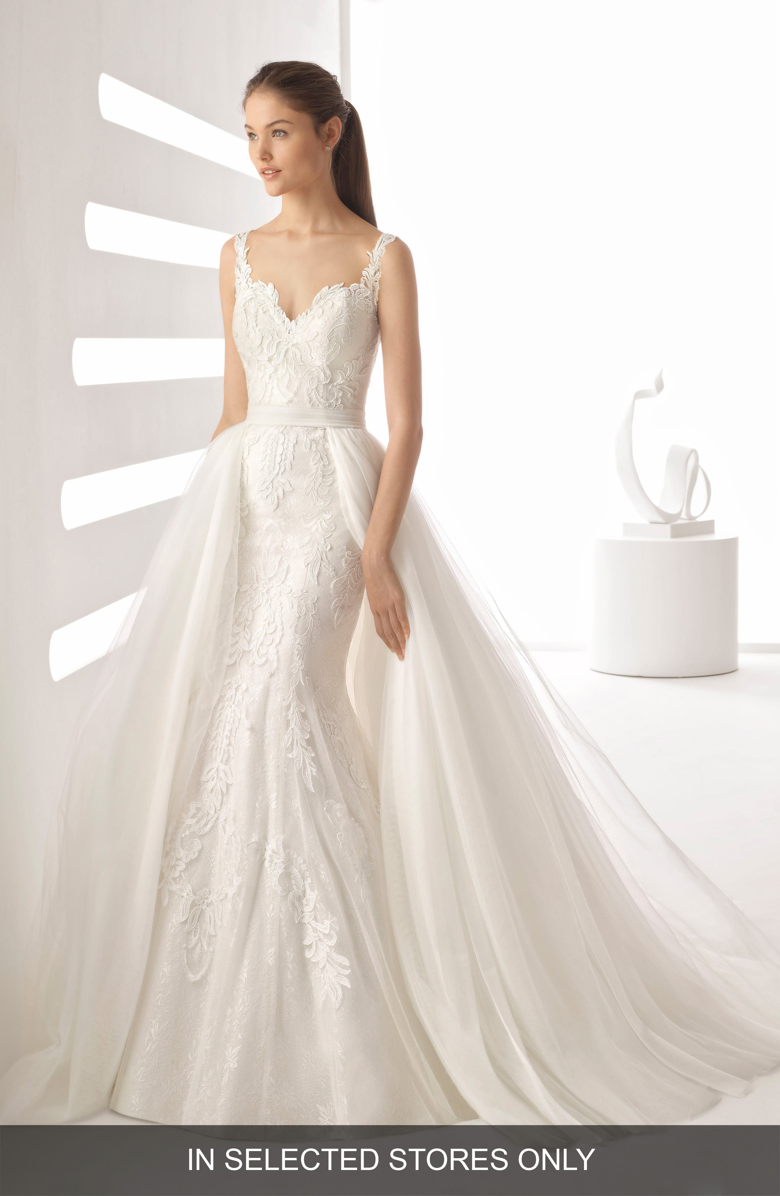 Rosa Clara Agnes Mermaid Gown, Size IN STORE ONLY - Beige