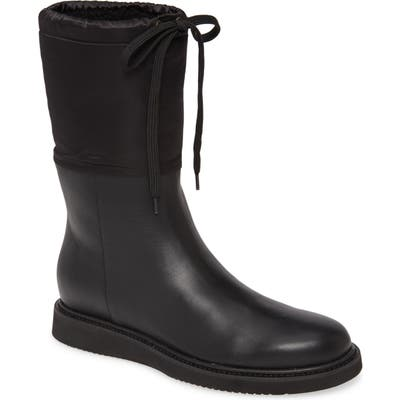 Aquatalia Camillia Weatherproof Wedge Boot, Black