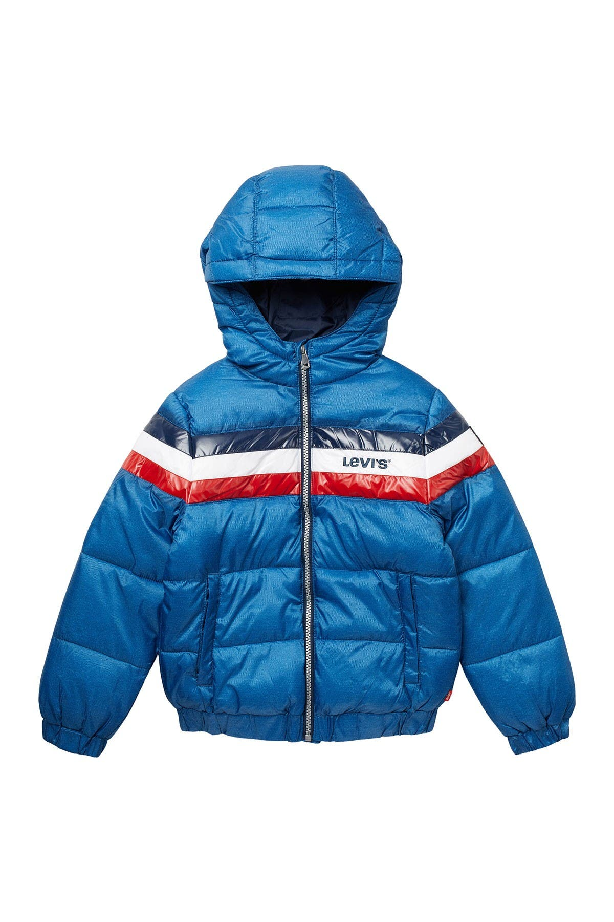 Image of Levi's Crop Puffer Jacket