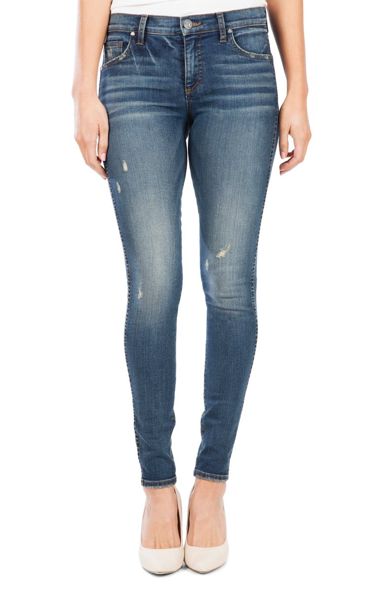 KUT FROM THE KLOTH Mia Fab Ab Distressed High Waist Skinny Jeans, Main, color, OTHER