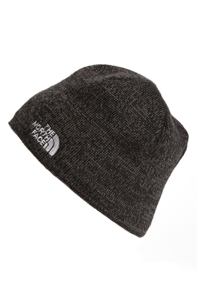 THE NORTH FACE Jim Beanie, Main, color, TNF BLACK HEATHER