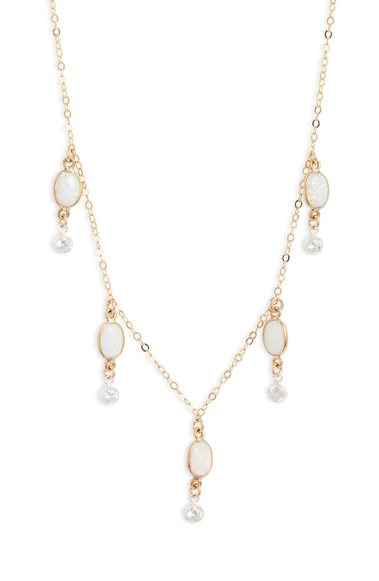 SET & STONES Ivy Necklace, Main, color, GOLD