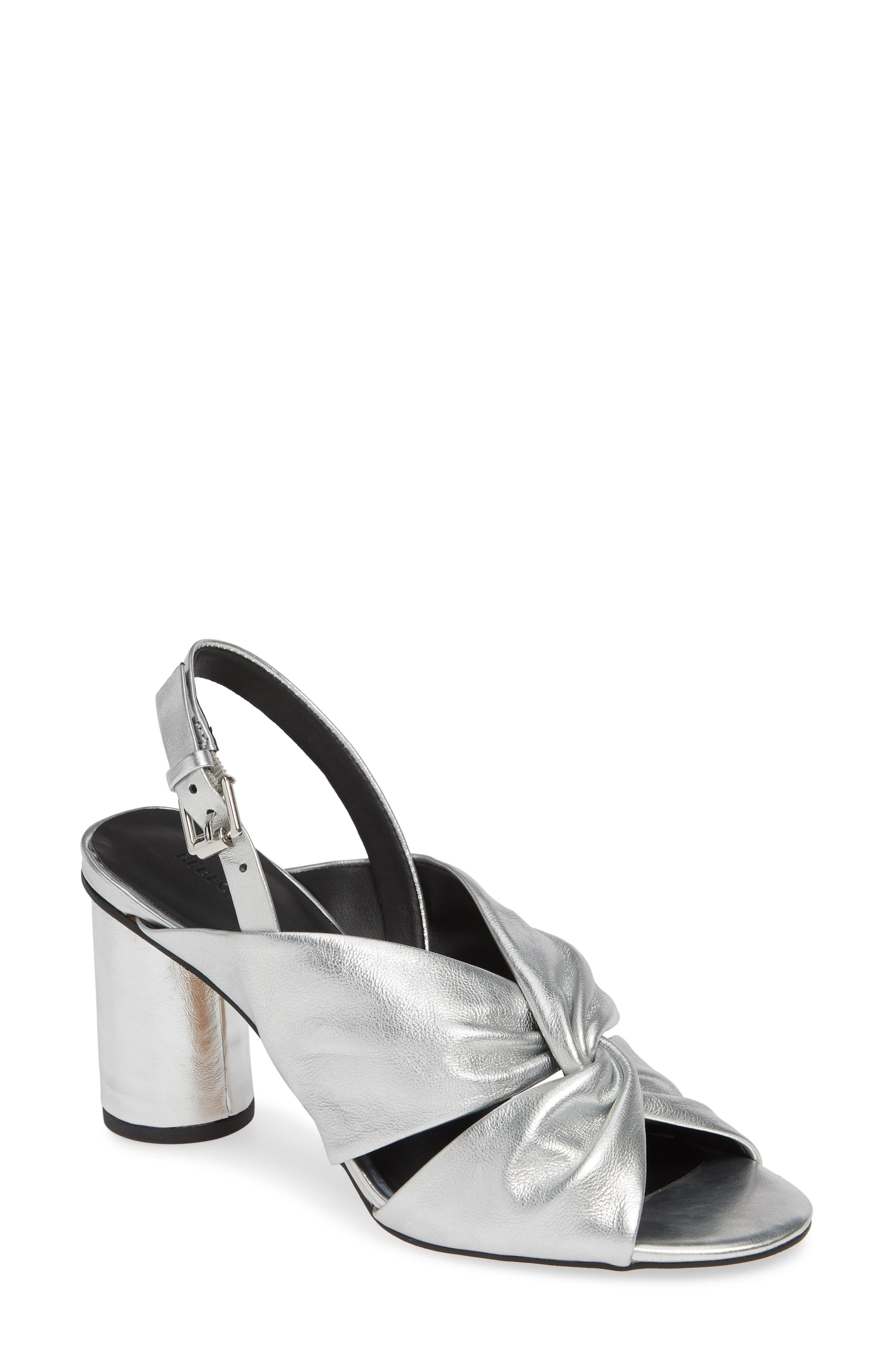 Rebecca Minkoff Agata Slingback Sandal, Metallic