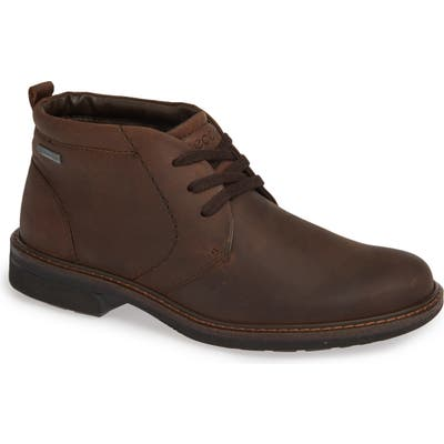 Ecco Turn Gore-Tex Waterproof Chukka Boot, Metallic