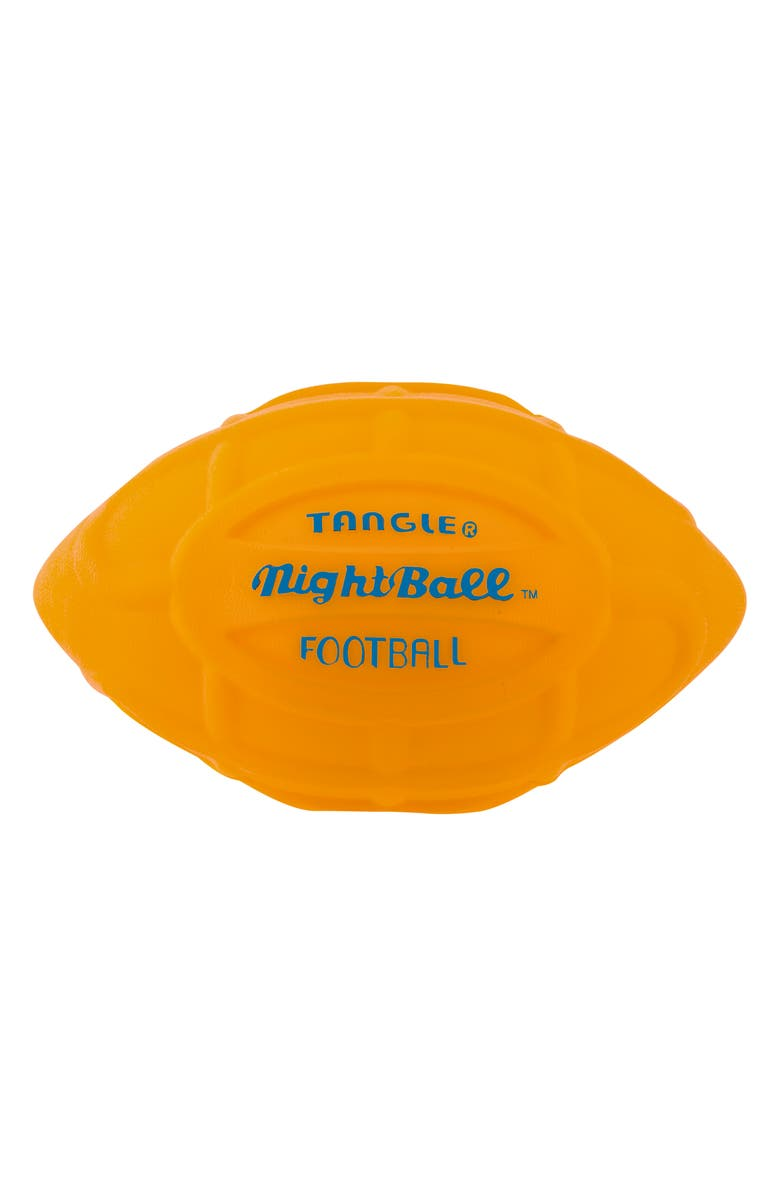 TANGLE NightBall Football, Main, color, ORANGE