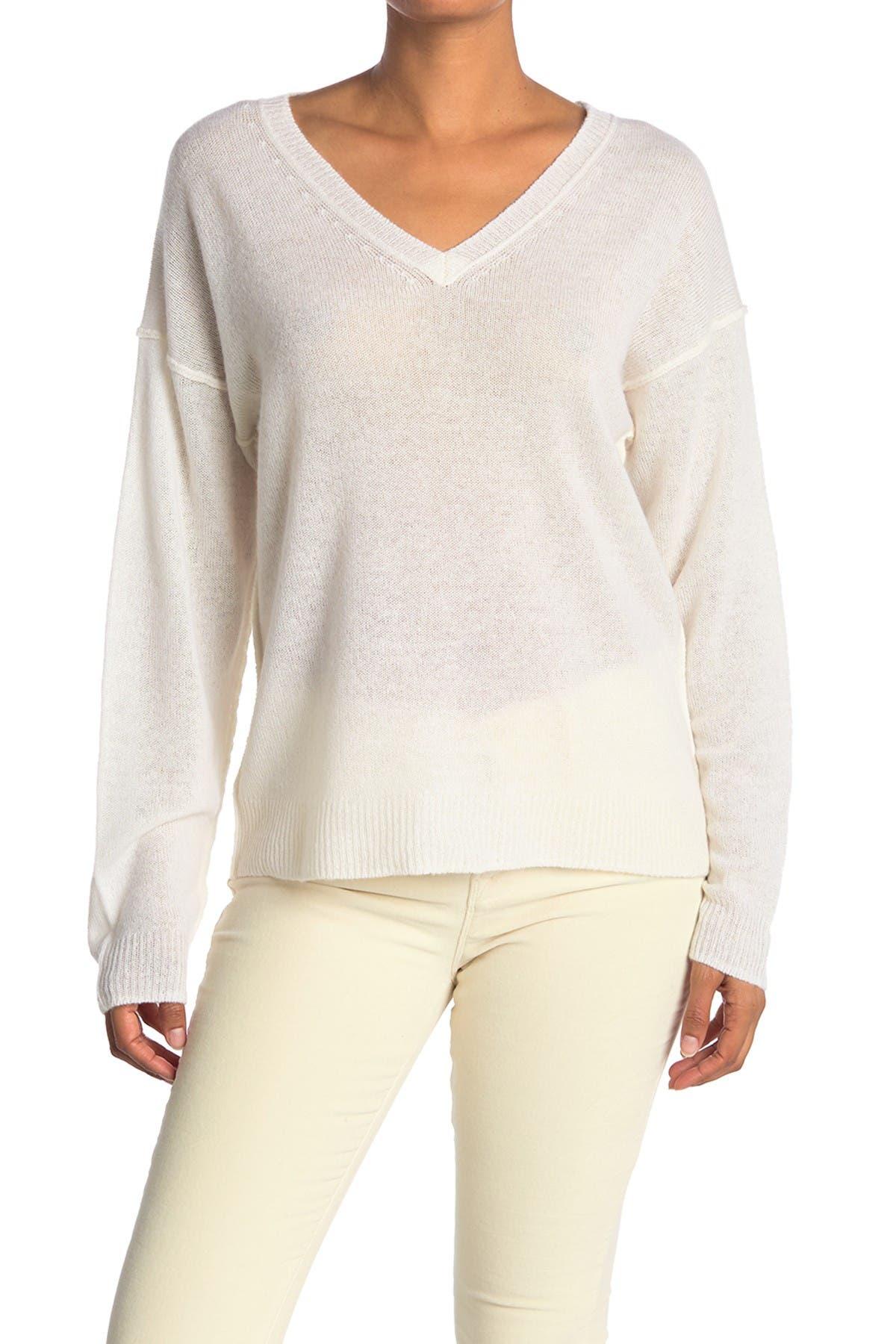 Image of 525 America Lightweight Cashmere V-Neck Sweater