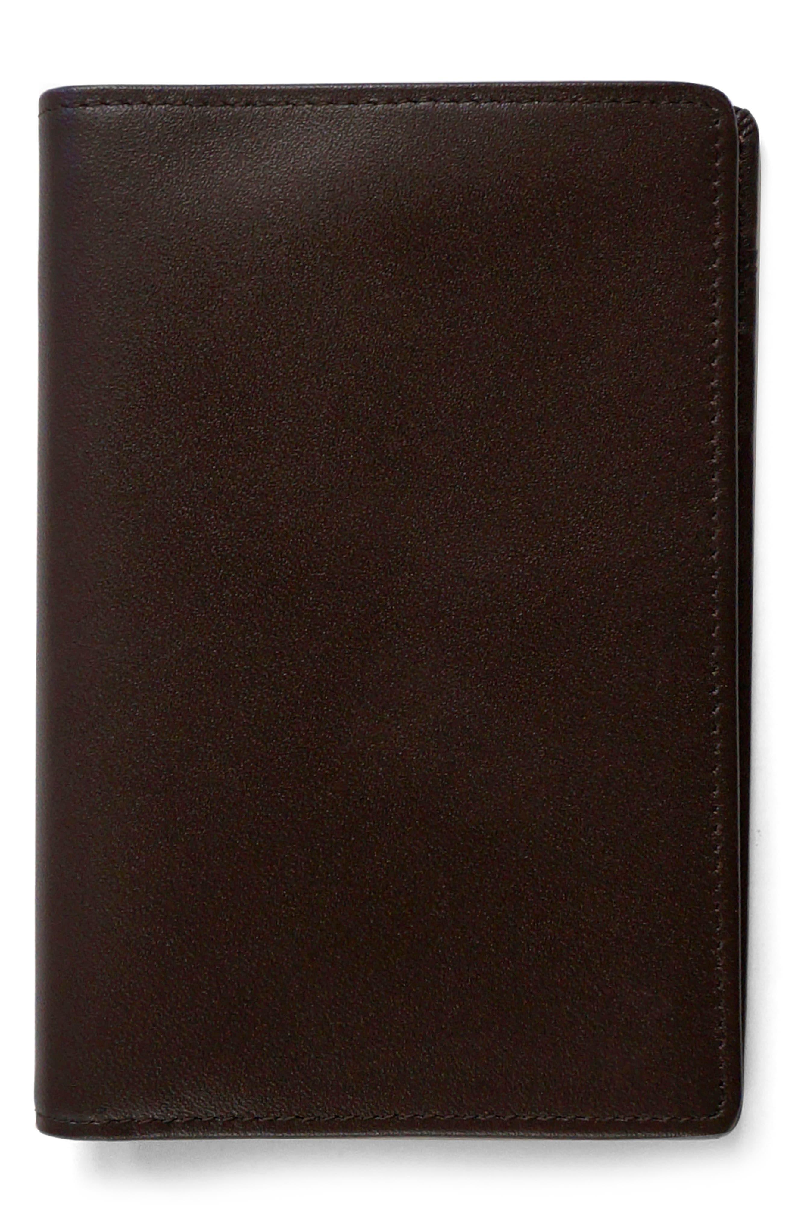 'Grant' Rfid Blocker Leather Passport Case