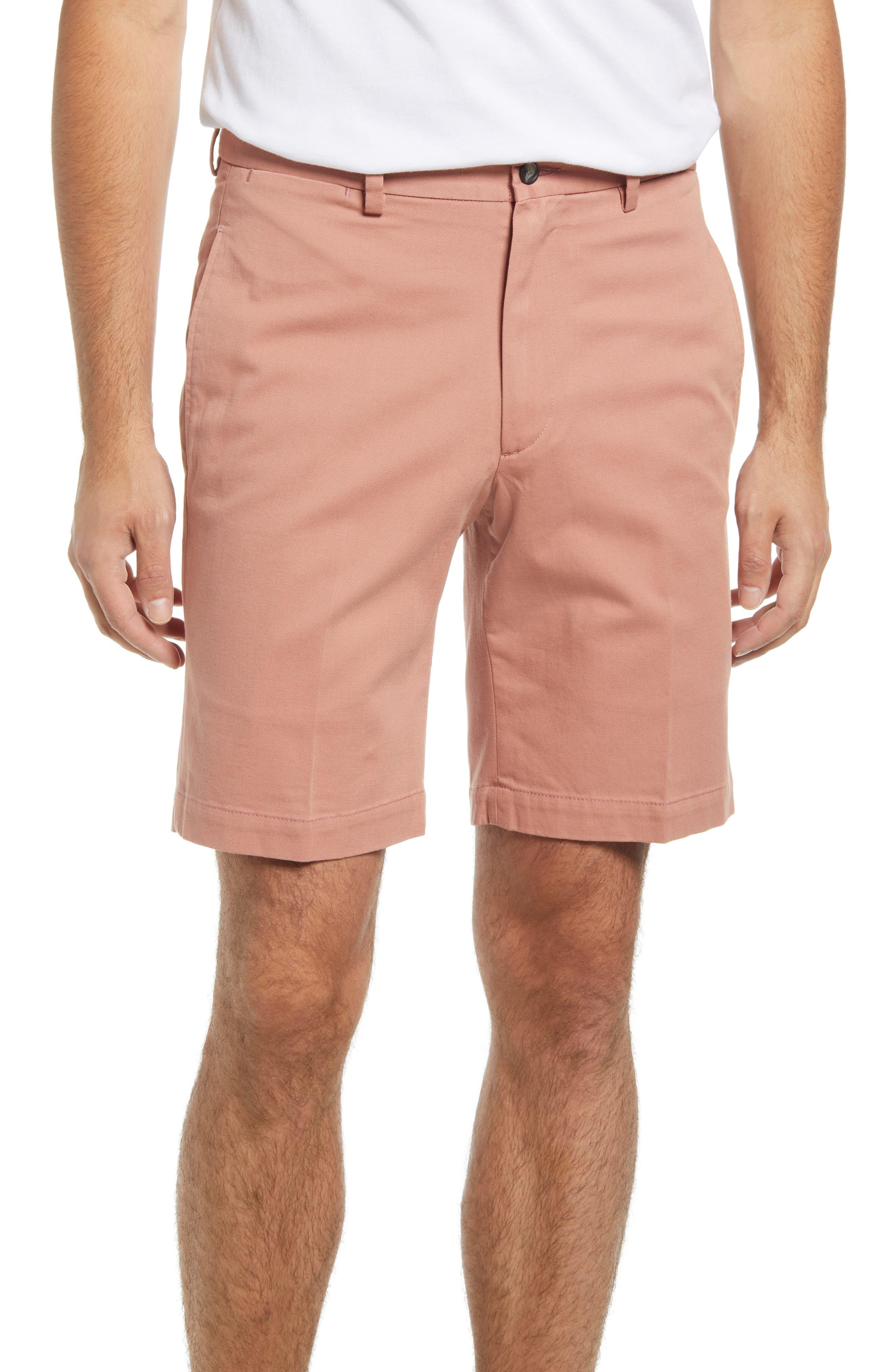Charleston Flat Front Chino Shorts
