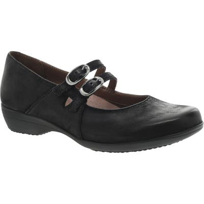 Dansko Fynn Mary Jane Pump - Black