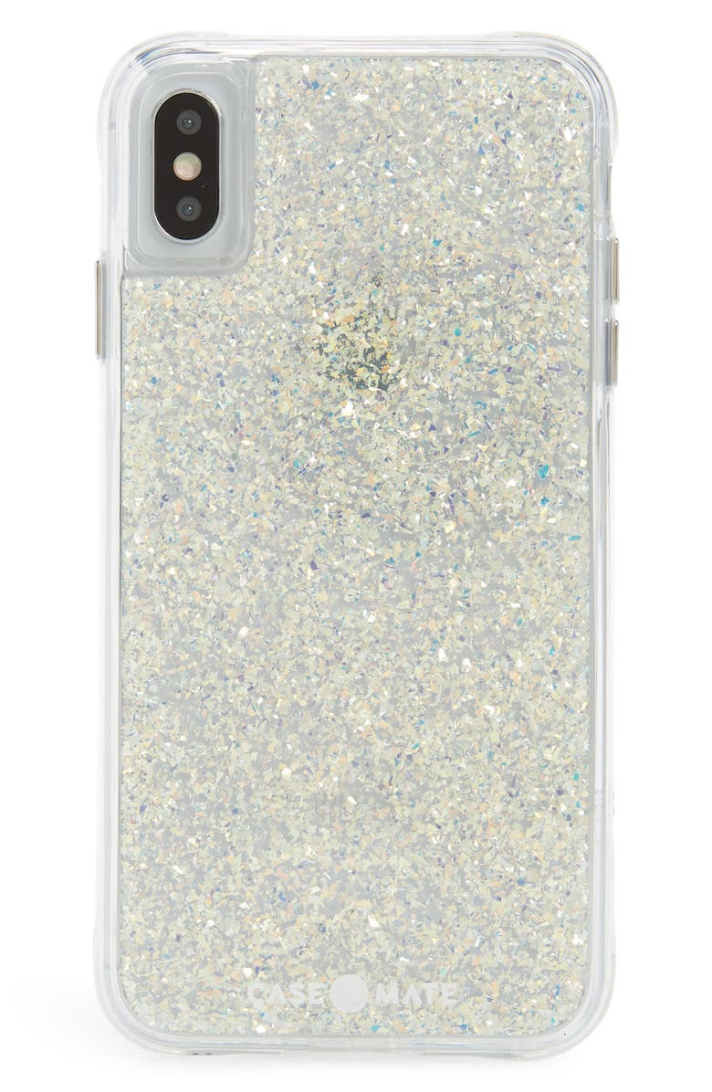CASE-MATE<SUP>®</SUP> Twinkle iPhone X/Xs & Xs Max Phone Case, Main, color, IRIDESCENT