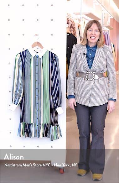 Cora Long Sleeve Shirtdress, sales video thumbnail