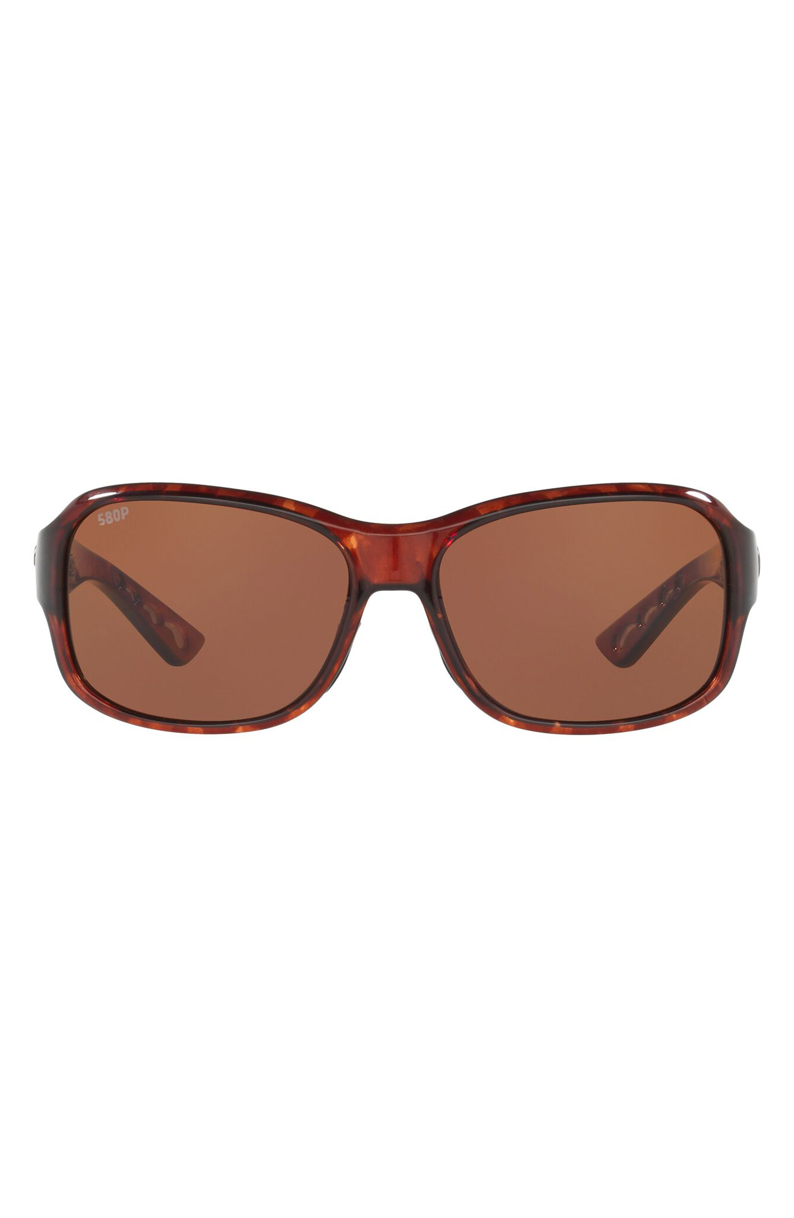 Pillow 58mm Polarized Sunglasses