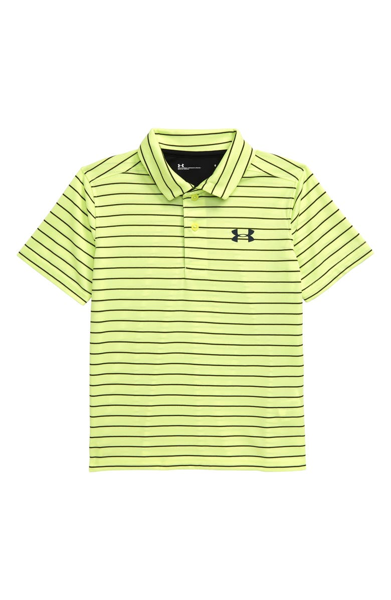 UNDER ARMOUR Match Play Stripe Polo, Main, color, 730