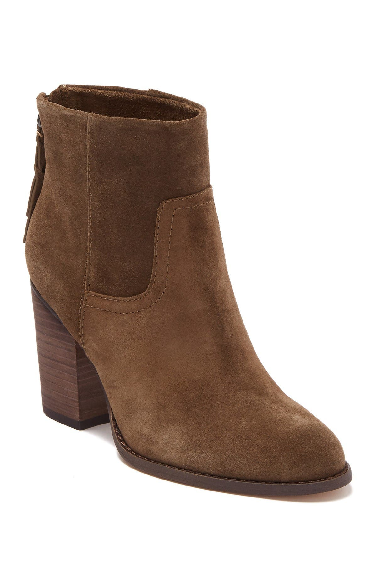 Image of Splendid Hila High Suede Above Ankle Boot