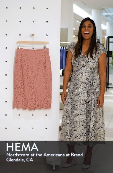 Lace Pencil Skirt, sales video thumbnail
