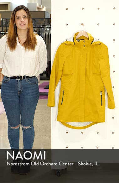 Josephine Water Repellent Hooded Jacket, sales video thumbnail