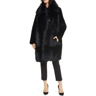Boss Sobesta Genuine Shearling Coat, Black