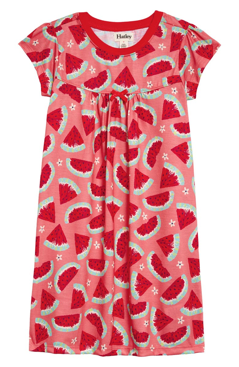 HATLEY Watermelon Slices Nightgown, Main, color, 650