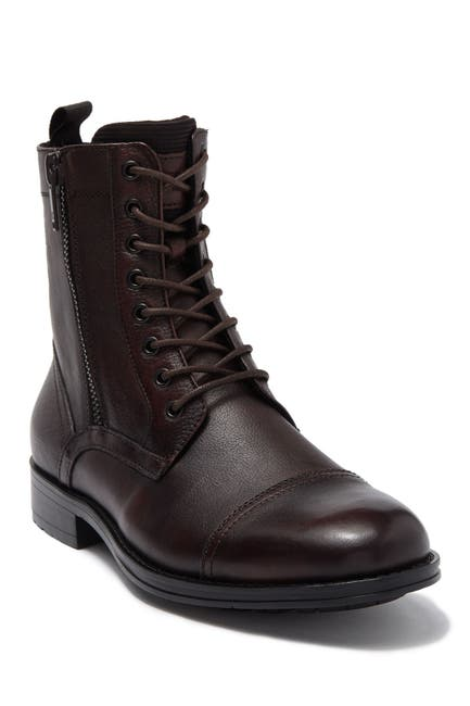 Image of Kenneth Cole New York Side Zip Leather Boot