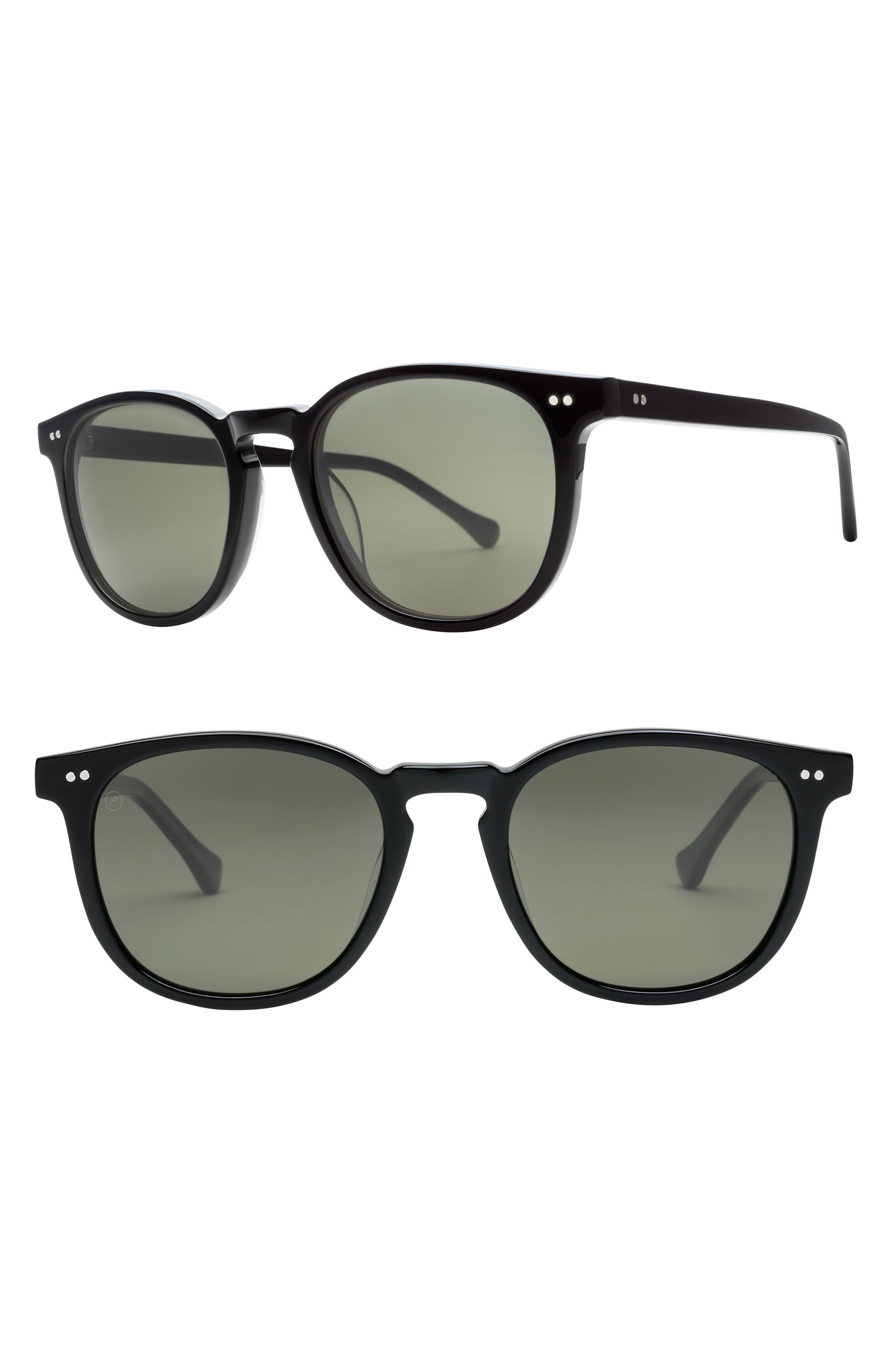 Oak 58mm Round Sunglasses