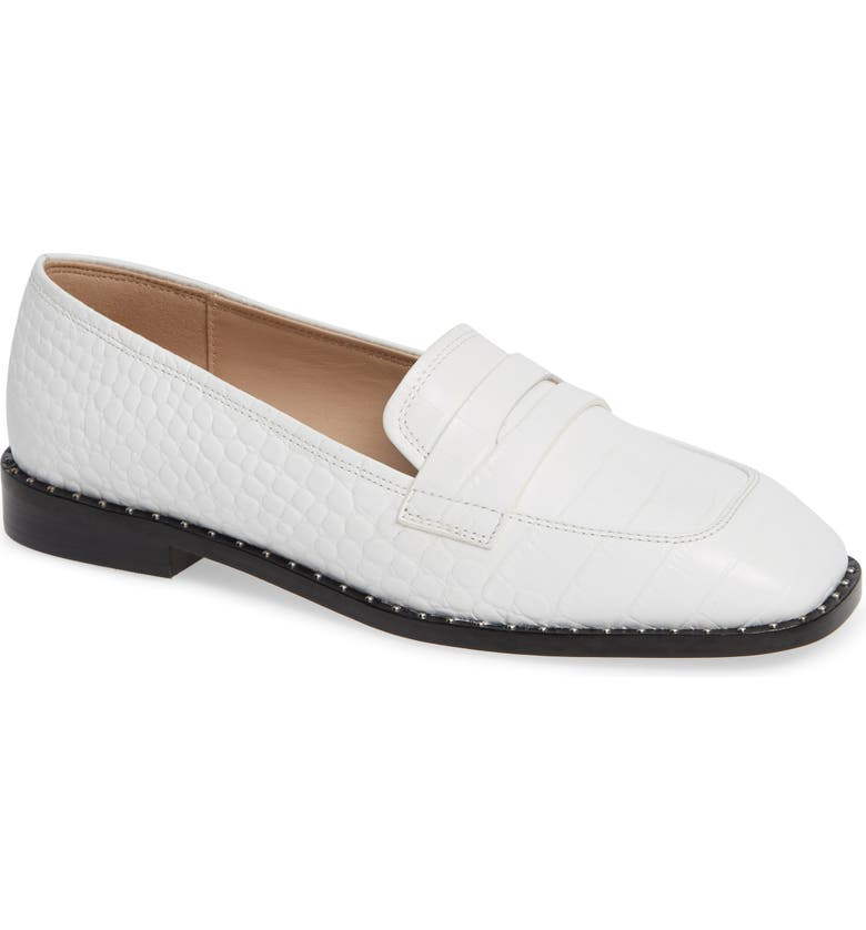 SOMETHING NAVY Amado Loafer, Main, color, 100