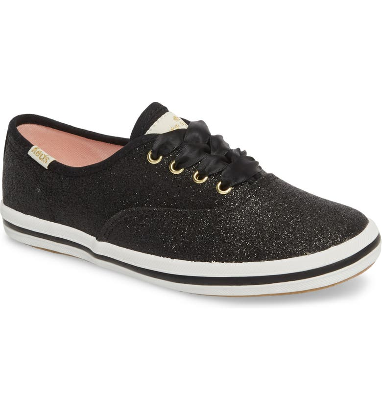 KEDS<SUP>®</SUP> x kate spade new york Champion Glitter Sneaker, Main, color, 001