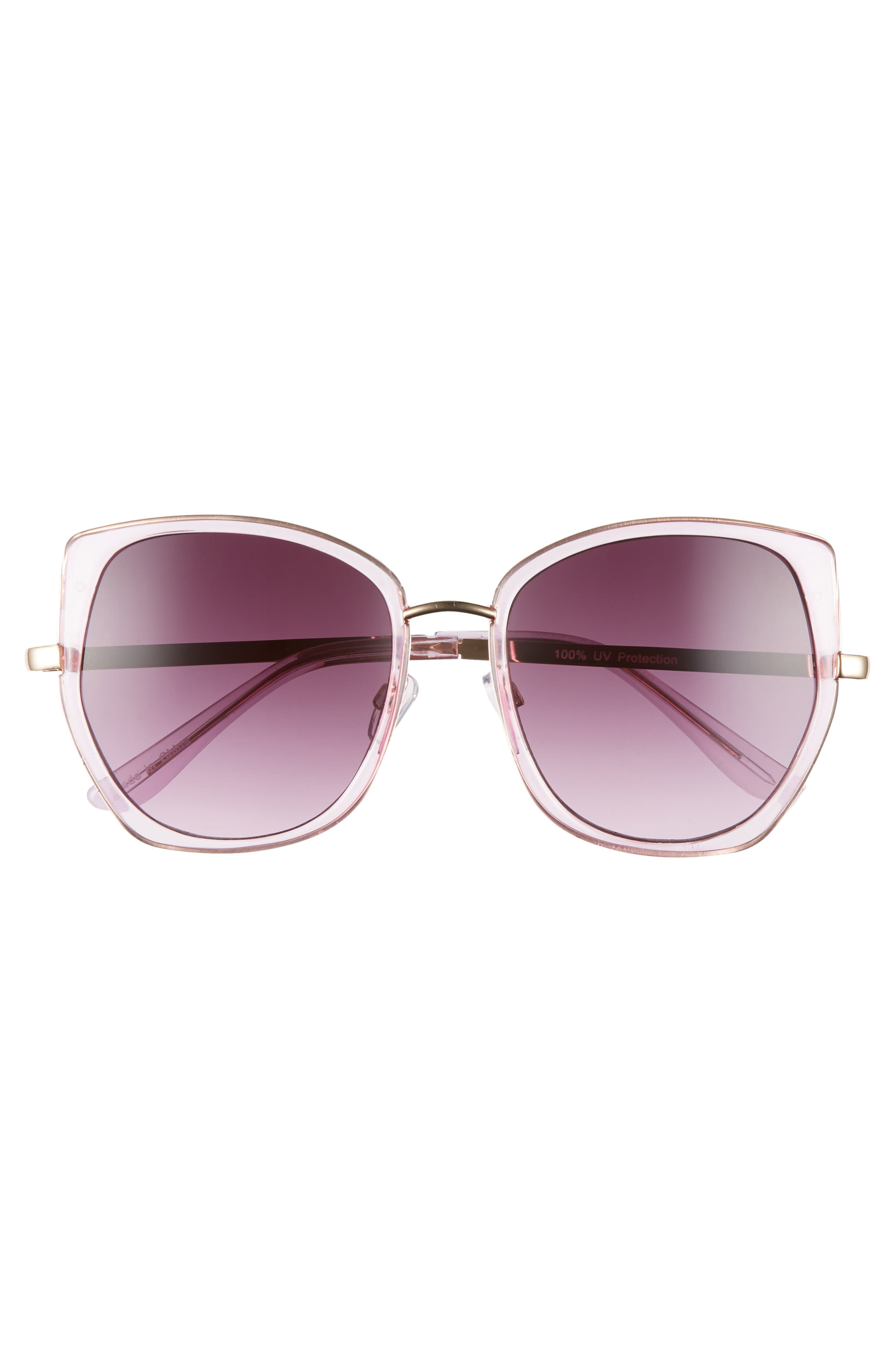 ,                             Leith 60mm Square Sunglasses,                             Alternate thumbnail 6, color,                             500