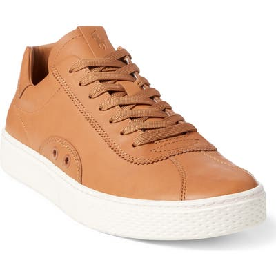 Polo Ralph Lauren Court 100 Lux Sneaker - Brown
