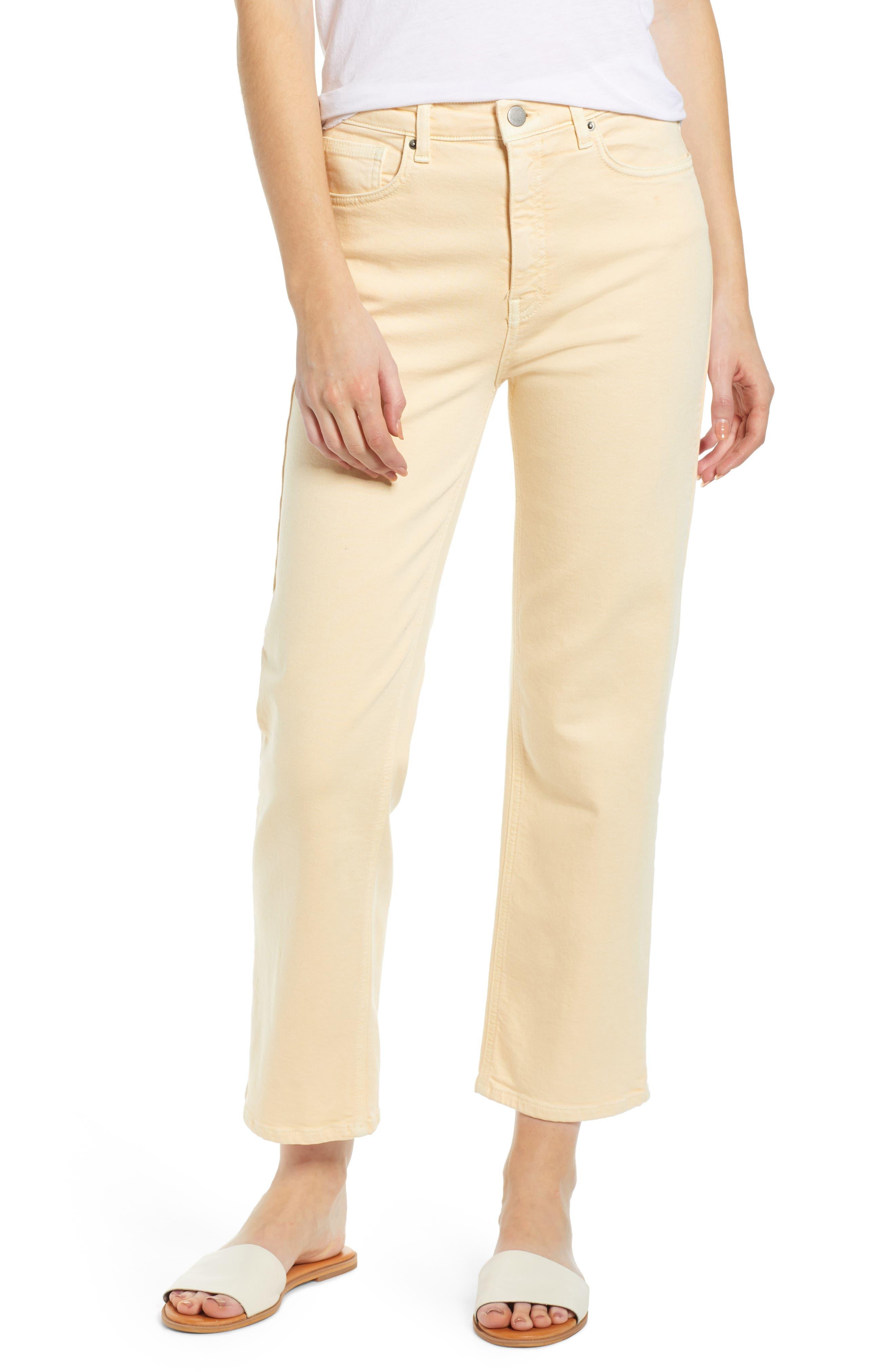 Image of Rebecca Minkoff Dominica Cropped Denim Pants
