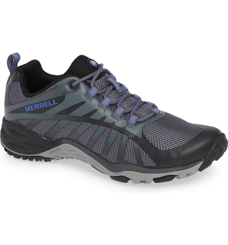 MERRELL Siren Edge Q2 Hiking Shoe, Main, color, BLACK FABRIC